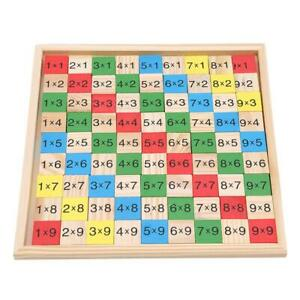 Montessori-Educational-Wooden-Multiplication-Table-Math-Arithmetic-Teaching-6L