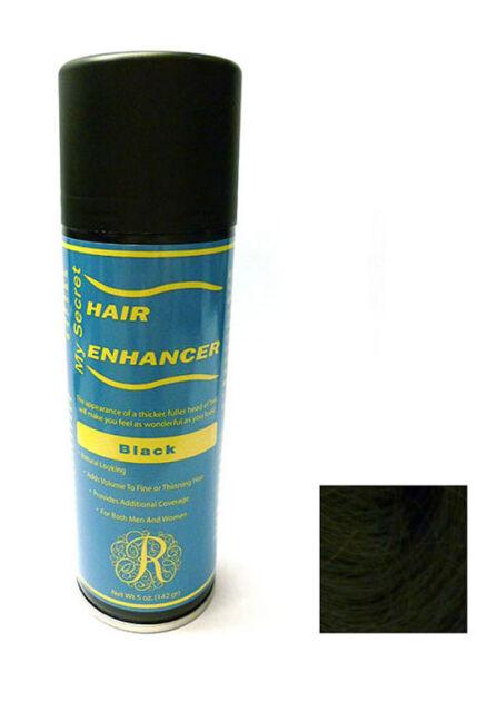 My Secret Hair Enhancer Spray BLACK for thinning hair loss 5 oz.