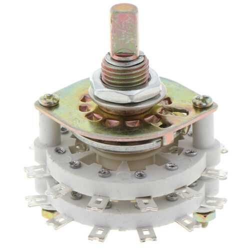2P11T 2 Pole 11 Position Dual Deck Band Channael Rotary Switch~erHH