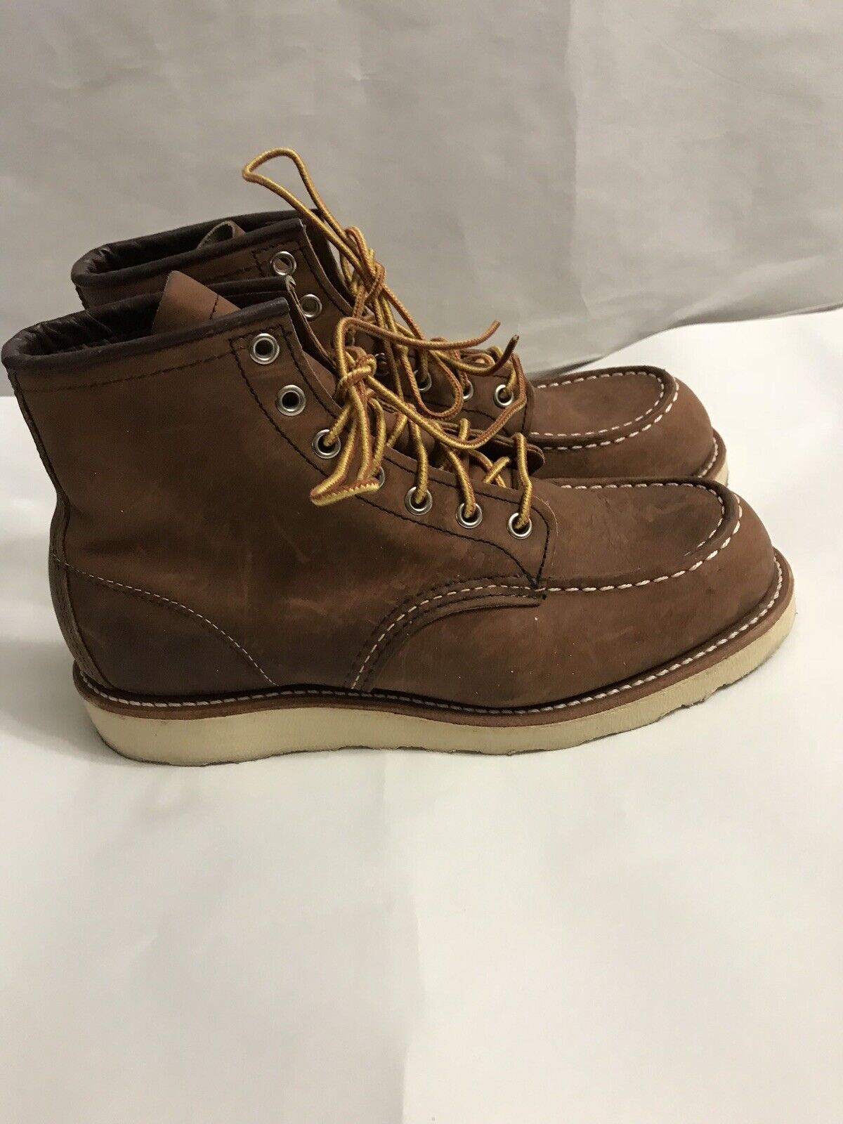 B-497 Red Wing 8880 Classic Moc Boots 6  Size 7 D