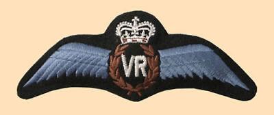 Great Britain Royal Air Force RAF Veteran/'s Reserve VR shoulder titles badges