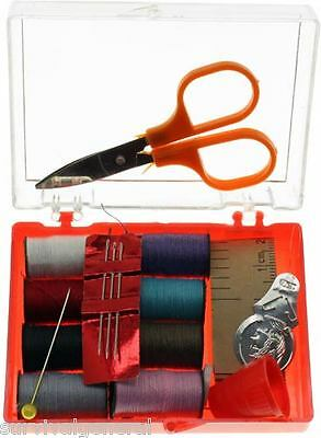 21 Piece Sewing Kit Travel With Box Survival BOB Emergency Prepper Gear Zombies