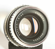 Carl Zeiss Jena DDR Electric Pancolar 50mm f1.8 Zebra 'aus Jena' M42