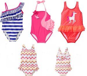 NWT Gymboree Flower Rash Guard swimsuit Toddler Girls UPF 50 12//18//24,2T3T4T5T