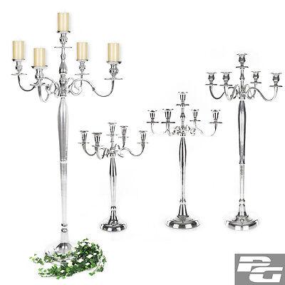 Kerzenleuchter 5-armig Silber Leuchter Kerzenständer Kandelaber Silberleuchter
