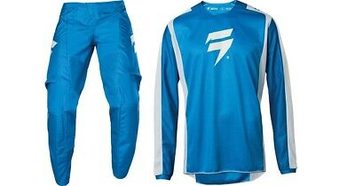 Shift WHIT3 York Black Pant and Jersey Combo Motorcycle MX ATV S19AYORK1