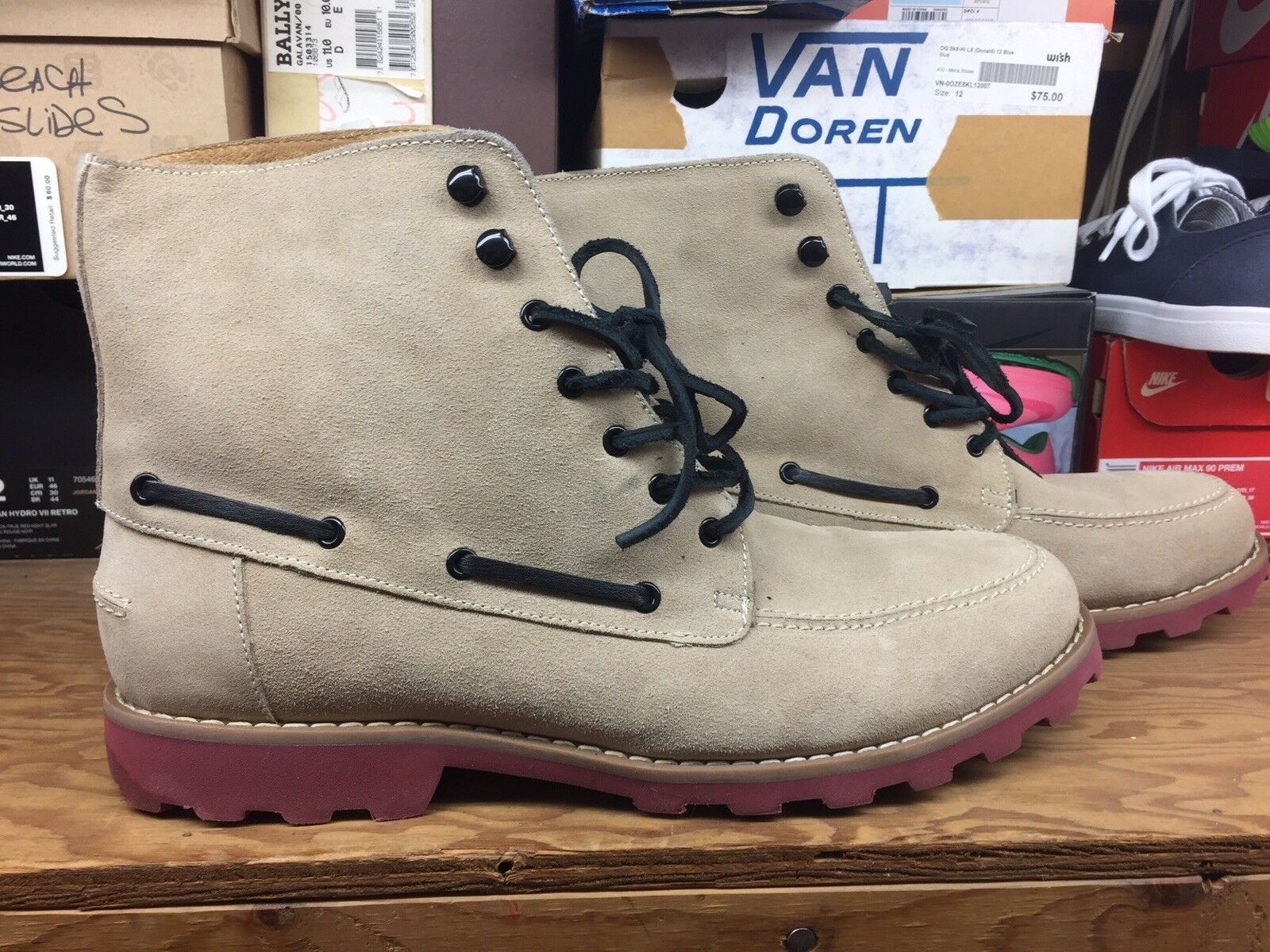 Generic Surplus Mojave Ankle Boots Sand Men Sz 12 Pre Owned Great Condition