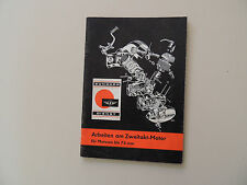 Reparaturanleitung Zündapp Motor KS75 Sport Combinette Super Falconette KS50