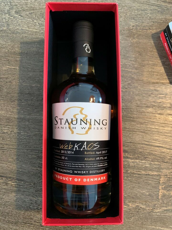 Spiritus, Stauning Whisky WebKAOS