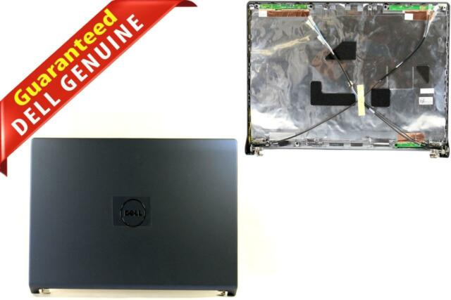 """OEM Dell Studio 1555 1557 1558 15.6/"""" LCD Back Cover Lid W// Hinges Power Button"""