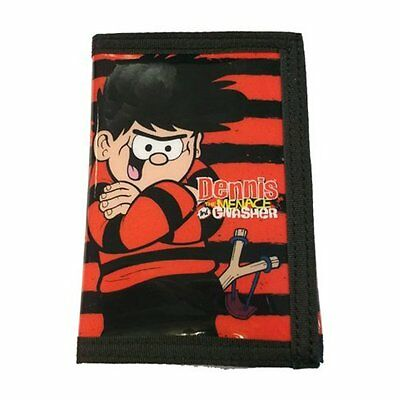 Dennis the Menace and Gnasher Boys Wallet with Zipped Pocket