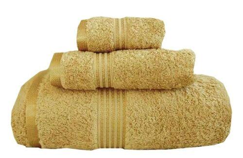 MARRIKAS 100/% Egyptian Cotton Quality 6 Piece Towel Set  GOLD