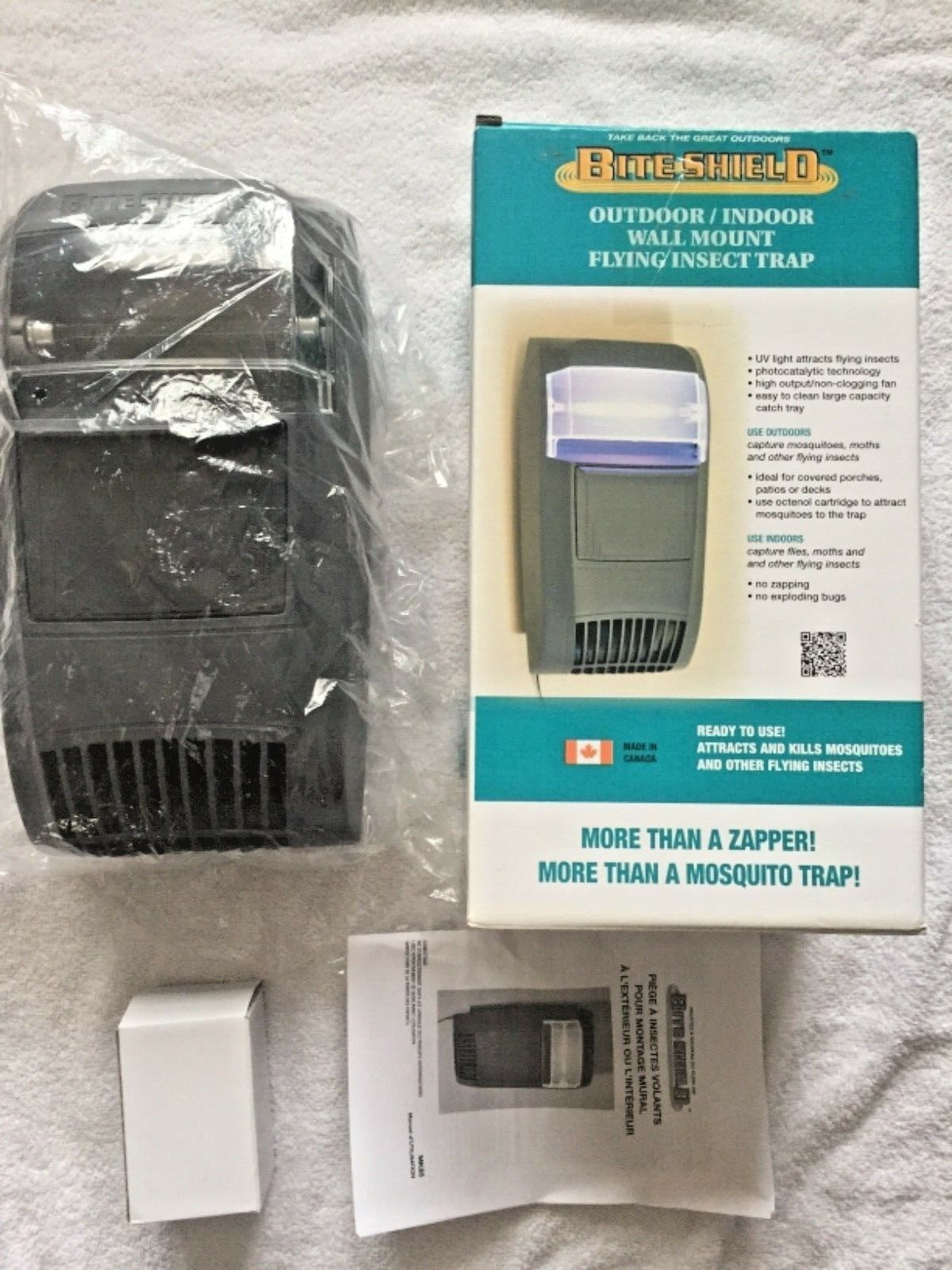 Replacement Koolatron Mosquito Pest Trap Brand new  missing parts please read  cheap and fashion