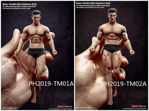 TBLeague TM02A 6inches 1//12 Seamless Muscle Figure W// Head Male Flexible Body