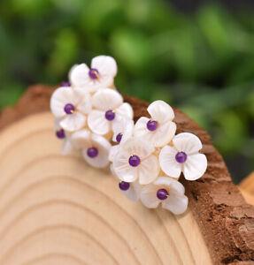 B15-Earrings-Flower-Of-Perlmuttbluten-And-Amethyst-Silver-925