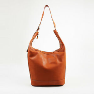 Image is loading VINTAGE-Gucci-Brown-Leather-Hobo-Bag c71c19d243dcf