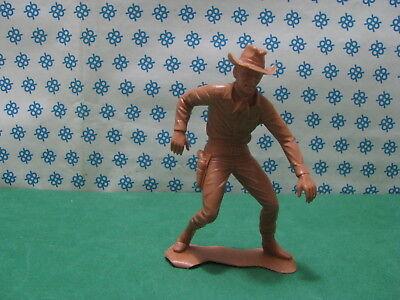 Energico Louis Marx Toys - Cowboy Al Duello - Usa Corrispondenza A Colori