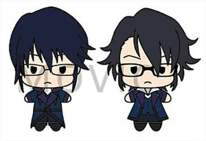 K-SEVEN-STORIES-Plush-Keychain-Scepter-4-Set2-Reisi-Munakata-amp-Saruhiko-Fushimi