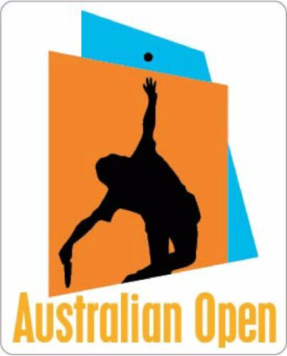 Australian Open Tennis Vinyl Sticker Decal