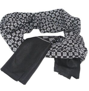 Men/'s Luxury Micro Weave Polyester Ultra Warm Scarf Cravat Feels Like Silk