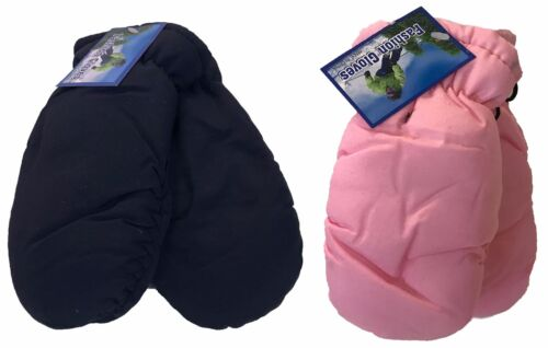 WHOLESALE LOT 12 Pairs Kids  Child Ski MITTEN THINSULATE GLOVES / 2 T to 4 T