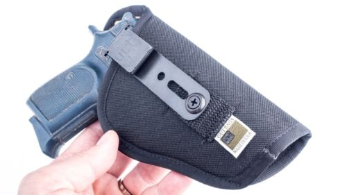 """Most 3 /& 4/"""" Compact 1911sIWB Conceal Carry CCW Holster w// Sweat Guard"""