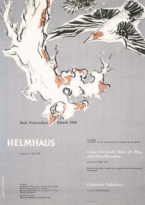 Original-1950-Muller-Brockmann-Art-Design-poster-Plakat-Lot-156