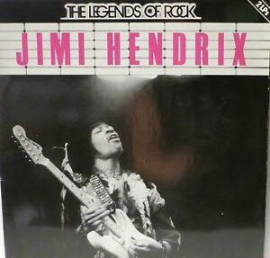 Jimi-Hendrix-The-Legends-Of-Rock-2-vinyl-NM-LP-Album-Germany-1981-Strand