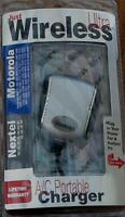 Just Wireless Ac Portable Charger Motorola / Nextel Brand In Package