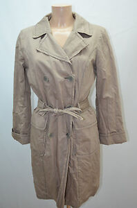 CAROLL IMPER MANTEAU COAT BEIGE FEMME TAILLE 38 T38 M   eBay 60c029e9ddf1