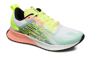 O cualquiera aeropuerto Miserable  New Balance Womens Fuelcell Echolucent White Yellow Blue Running Shoes  WFCELLM | eBay