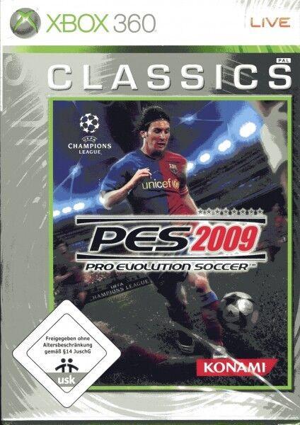 Pro Evolution Soccer 2009 XBOX 360 NUOVO