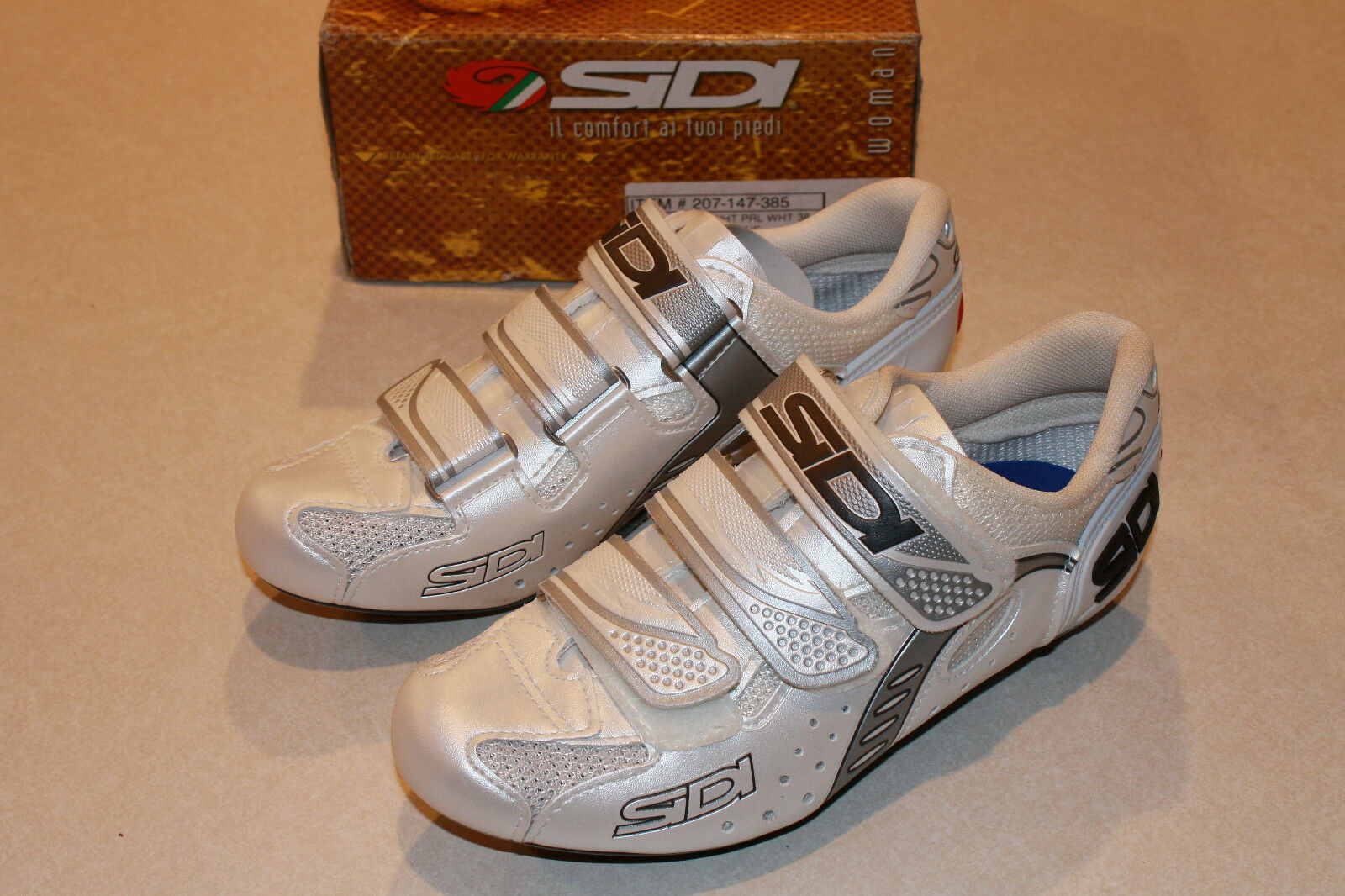 SIDI ZETA WOMANS  ROAD SHOE  - SIZE 38.5   5.5 - NEW