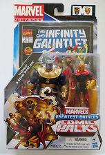 Marvel Universe Greatest Battles Comic Packs Thanos Adam Warlock figure 2012 MOC