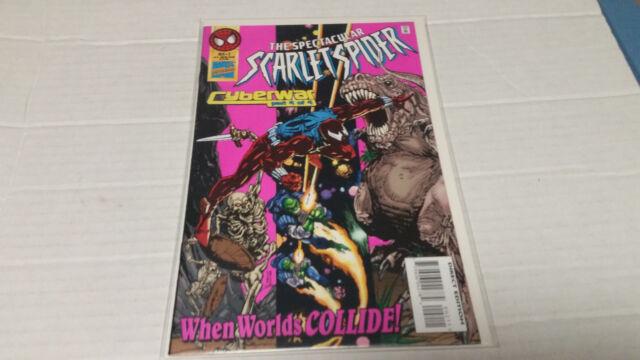 The Spectacular Scarlet Spider # 2 (Marvel, 1995) Cyberwar Part 4 of 4