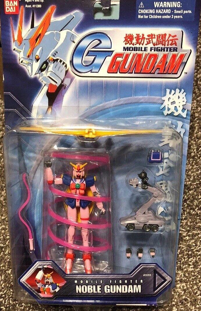 Bandai Sealed Pink Var. Nobel Noble Gundam Mobile Fighter Fighter Fighter ACTION FIGURE Msia Lot a49125
