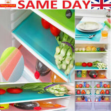 1,4 pcs Easy Clean Kitchen Cabinet Pad Anti Slip Fridge Liner Mat