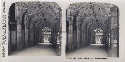 Humor Rouen Durchgang Von Der Europäische Rechnungshof Frankreich Foto Stereo Vintage Durchsichtig In Sicht