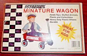 Vintage Speedway Series Little Red Wagon - New In Box - Free Shipping!