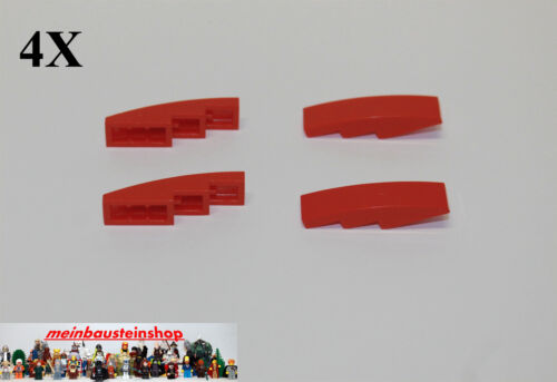 11178 Bogensteine Slope Curved 1X4 Rot Red 6045937 4X Lego® 11153