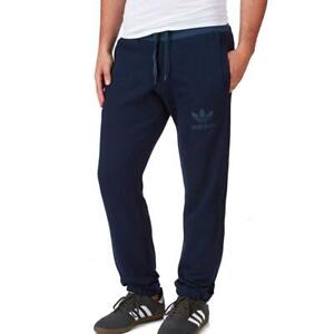 adidas-originals-Mens-Blue-SPO-Fleece-Sweat-Pants-Sport-Gym-Tracksuit-Bottoms