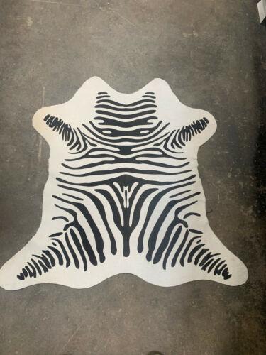 3//2 ft FREE-SHIPPING 100/% Real Animal Print Cowhide Rug