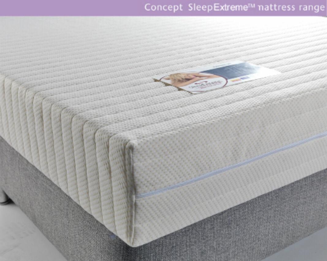 Double 4.6FT Sleep Extreme 6 Reflex Foam Mattress Orthopaedic mattress