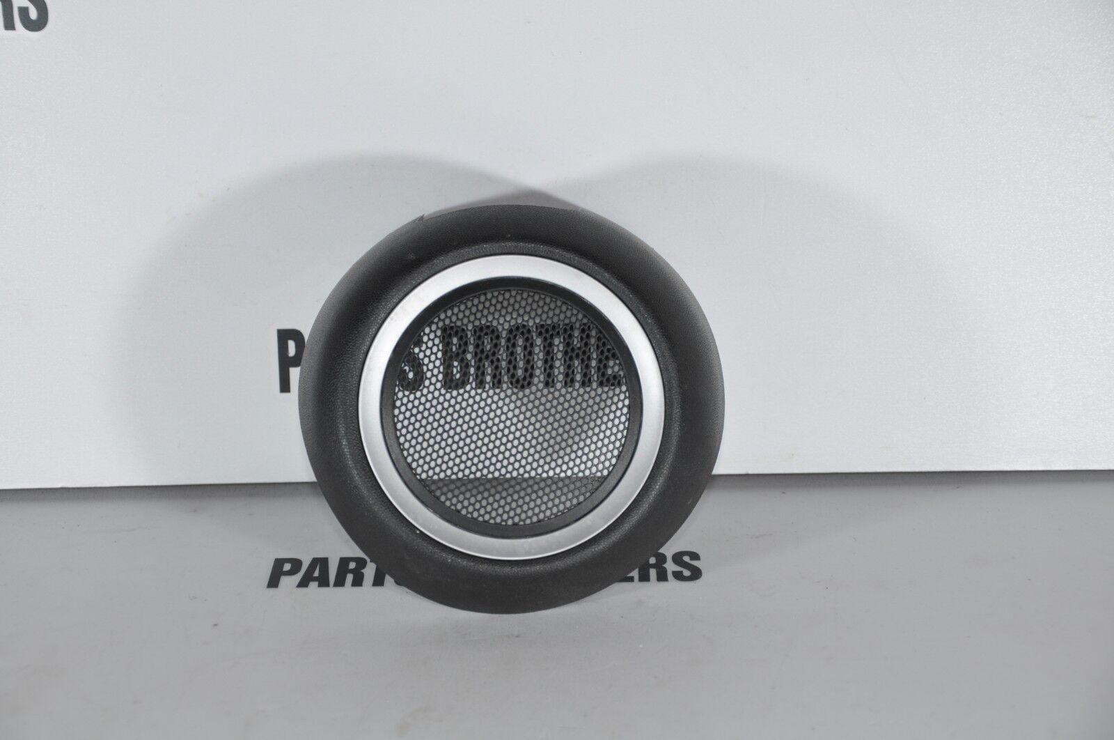 BMW Mini Cooper R56 R55 R57 R58 Cover Loud Speaker Left Silver N//S 2753685