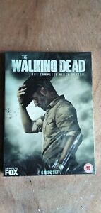 The Walking Dead:The Complete 9 Season (6-Disc DVD)UK Region 2 Free Shipping