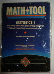MATHTOOL-STATISTICS-1-by-Gulf-Publishing-Co-For-IBM-PC-SEALED-BRAND-NEW
