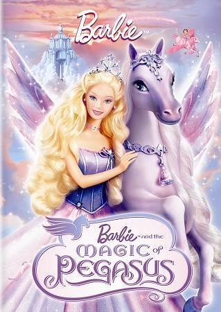 Barbie And The Magic Of Pegasus DVD, 2010  - $1.50