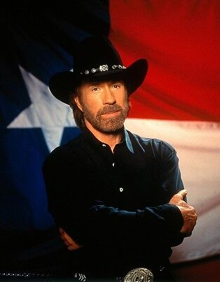 POSTER CHUCK NORRIS IS CORDELL WALKER (WALKER TEXAS RANGER - TV SERIES 1993-2001