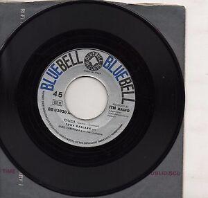 TONY-DALLARA-disco-45-STAMPA-ITALIANA-Verde-amore-Cynzia