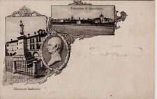 # SCANDIANO: PANORAMA E MONUM. A SPALLANZANI 1918